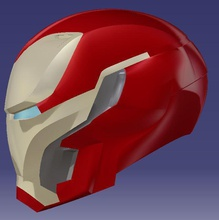 ironman Helm mark 50 infinity Krieg pinshape Helm ironman