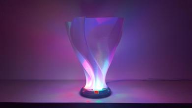 unfolding flower vase lampshade pinshape spiral vase spiralised spiral-printing spiral-vase-printing spiral-vase-mode spiral-outer-contour spiral-contour-mode spiral-vases spiral-vase vase vase-printing vases vase-mode vase-mode-printing