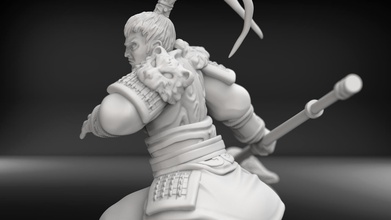 lu bu pinshape rotk three-kingdoms warrior lu-bu