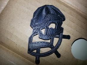 shady pirate charm pinshape wheel skull sketchup shady pirate ornament jewelry helm charm beanie art
