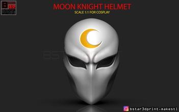 moon knight mask - marvel comic helmet 3d print model pinshape knight-mask knight-helmet knight-marvel knight-cosplay knight-toy knight-face knight-head knight-accessories moon ironman-infinity-war captain-america-accessories marvelcosplay marvel-cosplay marvel-helmet marvel-mask