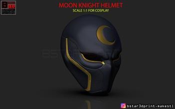 moon knight helmet - marvel mask high quality 3d print model pinshape moon-knight-head marvel-toy captain-america-helmet ironman-cosplay marvel-cosplay marvel-helmet moon-knight-accessories moon-knight-toy moon-knight-helmet moon-knight-marvel moon-knight-mask
