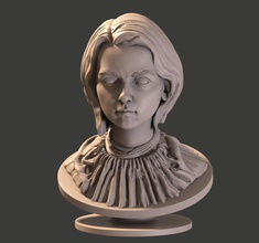 arya stark busto pinshape arya stark arya game of thrones