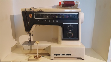 singer electronic 560 spool modification pinshape wire-spool wire tailor spool-holder spool-modification 560 singer-560 singer-electronic-560 singer sewing machine sewing