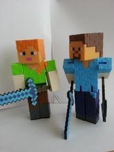minecraft alex coufikus pinshape alex mincraft minecraft pixel block figure