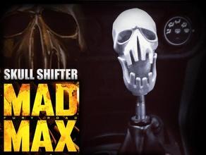 mad max fury road - shifter skull pinshape skull shifter knob shifter road warrior road wa road questpact mad max fury road mad max madmax fury road fury car