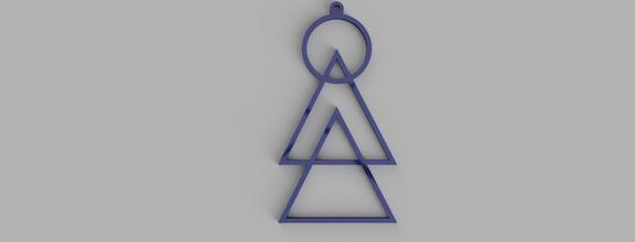 geometric keychain necklace pinshape earrings necklace necklaces geometric-shape geometric shape geometric-minimalism geometric