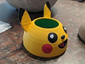 Pikachu mini plantador maceta forma alfiler maceta plantador Pikachu