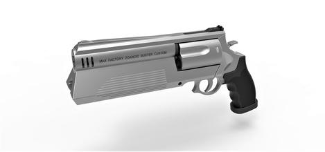 zoanoid buster revolver guyver pinshape fantasy anime firearm sidearm zoanoid-buster-revolver revolver zoanoid-revolver cosplay replica scifi weapon pistol gun