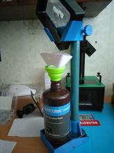 ajustable altura uv resina IVA escurridor forma alfiler IVA resina Sla msl lcd epax elegoo marte escurridor prusa sl1 fotón anycubic dlp
