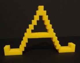 multifuncional alfabeto pinshape Diseño 3d
