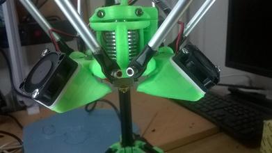 flex 30mm fan ammortizzatore pinshape disegno 3d