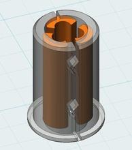 cheap linear bearing ptfe semi printed lm6uu pinshape ptfe printable linear bearing lm6uu linear motion linear bearings linear bearing delta printer bearing 3drsimple 3dr