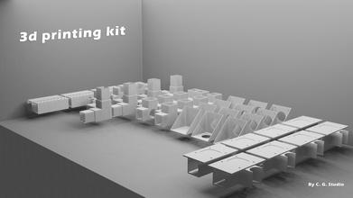 3d printing kit  custom-3d-printer-kit 3d-printer-kit printing-kit 3d-printing-kit