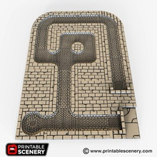rampage sewer floors airplane Scenary sewer floors designed perfectly go sewer walls but can combined any rampage wall
