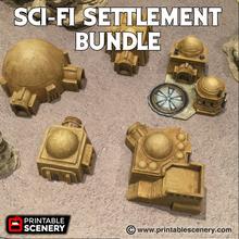 sci-fi settlement bundle airplane Scenary bundle includes sci-fi adobe hut sci-fi adobe hut b sci-fi adobe hut c sci-fi adobe hut d droid yard sci-fi vaporator