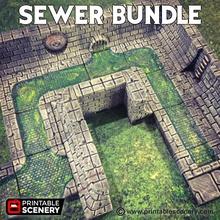 sewer bundle airplane Scenary sewer bundle contains rampage sewer walls rampage sewer floors