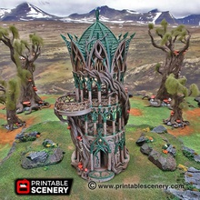 tower aeternus - printable scenery airplane Scenary deemed worthy enough chosen stand tower's grand balcony declared mage aeternus highest honour possible elven magic study reason many scholars spend months time tower's grand rooms alternating between studying hefty tomes meditating open-air spaces silken pillows tower aeternus fantasy-styled building designed use role-playing tabletop war games featuring hinged doors multiple levels removable roofs floors has plenty room allows excellent miniature placement prints without supports separate levels also included small printer version