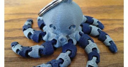 cute mini octopus keychain remix prusaprinters cute mini octopus keychain remix prusaprinters