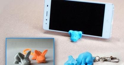 keychain smartphone stand dog bunny prusaprinters keychain smartphone stand dog bunny prusaprinters
