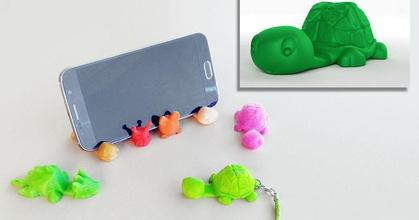 tortoise keychain smartphone stand prusaprinters tortoise keychain smartphone stand prusaprinters
