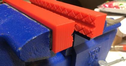 customizable vise soft jaws fully parametric prusaprinters customizable vise soft jaws fully parametric prusaprinters
