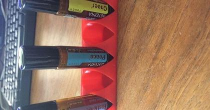 essential oil roller holder 5x1 prusaprinters essential oil roller holder 5x1 prusaprinters