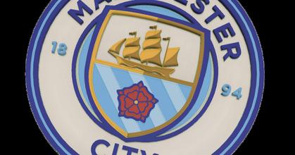 manchester city logo multi-color prusaprinters manchester city logo multi-color prusaprinters