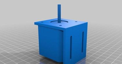 nema 17 motor paso paso 40 mm cuerpo ángulo soporte prusaprinters nema 17 motor paso paso 40 mm cuerpo ángulo soporte prusaprinters
