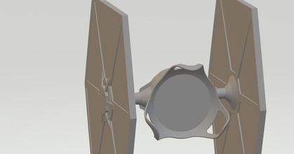tie fighter google mini mount - resized 169x199x222 prusaprinters tie fighter google mini mount - resized 169x199x222 prusaprinters