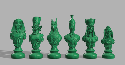 undead chess pieces -- resized rebased prusaprinters undead chess pieces -- resized rebased prusaprinters