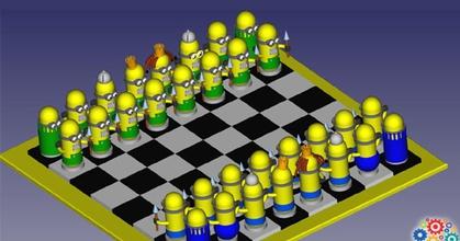 ajedrez minion - chess minion prusaprinters ajedrez minion - chess minion prusaprinters