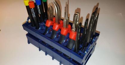 tools modular desktop stand tweezer plier screwdriver 20 prusaprinters tools modular desktop stand tweezer plier screwdriver 20 prusaprinters