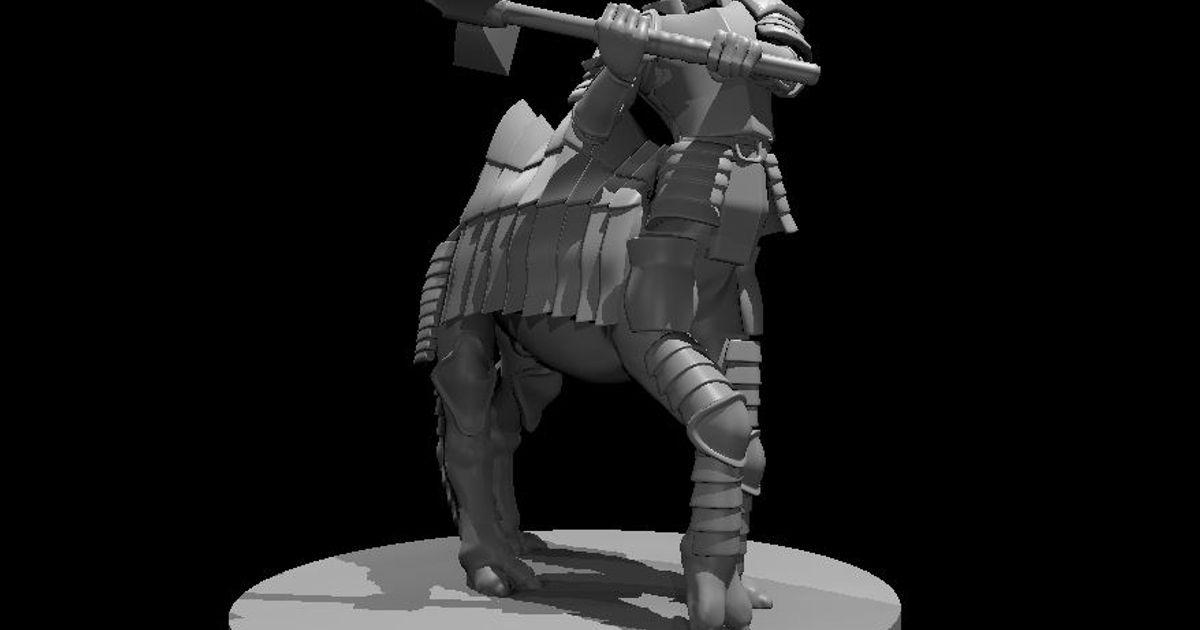 cameltaur fighter prusapr