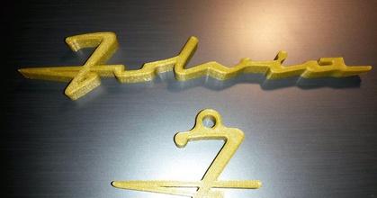 lancia fulvia car logo keychain holder - portachiavi logo lancia fulvia prusaprinters lancia fulvia car logo keychain holder - portachiavi logo lancia fulvia prusaprinters