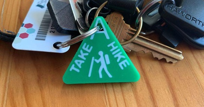 hike keychain prusaprinters hike keychain prusaprinters