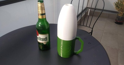 chladvac bottiglia birra isolamento termico prusaprinters chladvac bottiglia birra isolamento termico prusaprinters
