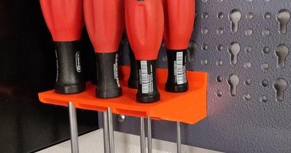 pper workbench screw driver holder prusaprinters pper workbench screw driver holder prusaprinters