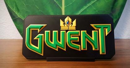 gwent logo - witcher 3 wild hunt prusaprinters gwent logo - witcher 3 wild hunt prusaprinters