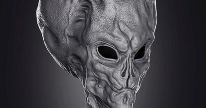Busto alien