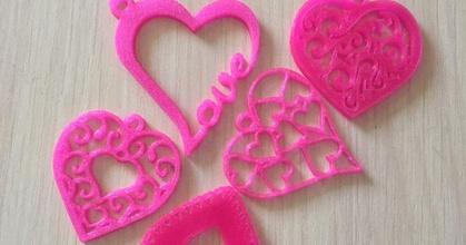 keychains heart prusaprinters keychains heart prusaprinters