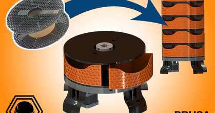 storing machine - based prusament spool upcycling prusament prusaprinters storing machine - based prusament spool upcycling prusament prusaprinters