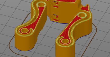 asse motore p3steel ammortizzatore prusaprinters asse supporto motore p3steel ammortizzatore prusaprinters