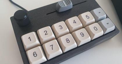 12 touches macropad rotatif encodeur faire glisser pot imprimantes prusa 12 touches macropad rotatif encodeur faire glisser pot imprimantes prusa
