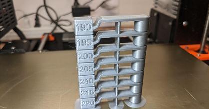 temperature tower 220-190 prusaprinters temperature tower 220-190 prusaprinters