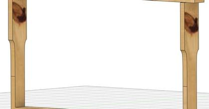 beehive frame hmchen hoffmann - parametric prusaprinters beehive frame hmchen hoffmann - parametric prusaprinters