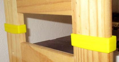 regal-verbinder 61 5 mm 15 5 mm - 20 mm hoch  regal-verbinder 61 5 mm 15 5 mm - 20 mm hoch