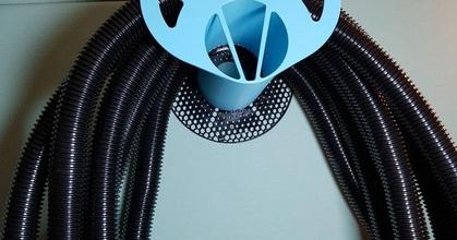 schlauchaufwicklung prusament spule - hose suspension prusament coil  schlauchaufwicklung prusament spule - hose suspension prusament coil