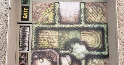 zombicida verde horda expansiones áspero Listo juego organizador negro Plaga zombicida verde horda expansiones áspero Listo juego organizador negro Plaga