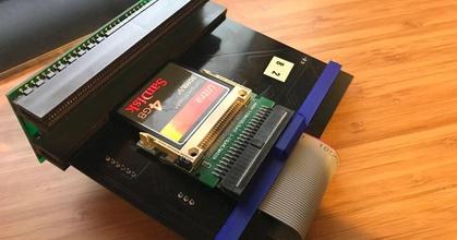 amiga cd32 tf328 cf-ide adapter tidy holder  amiga cd32 tf328 cf-ide adapter tidy holder